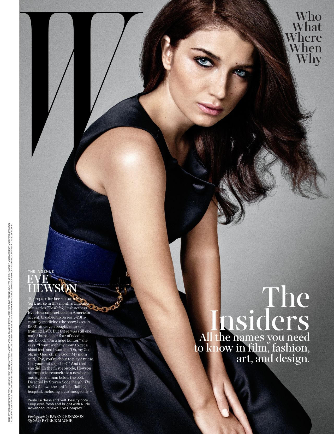Eve Hewson - W Magazine - August 2014 Issue