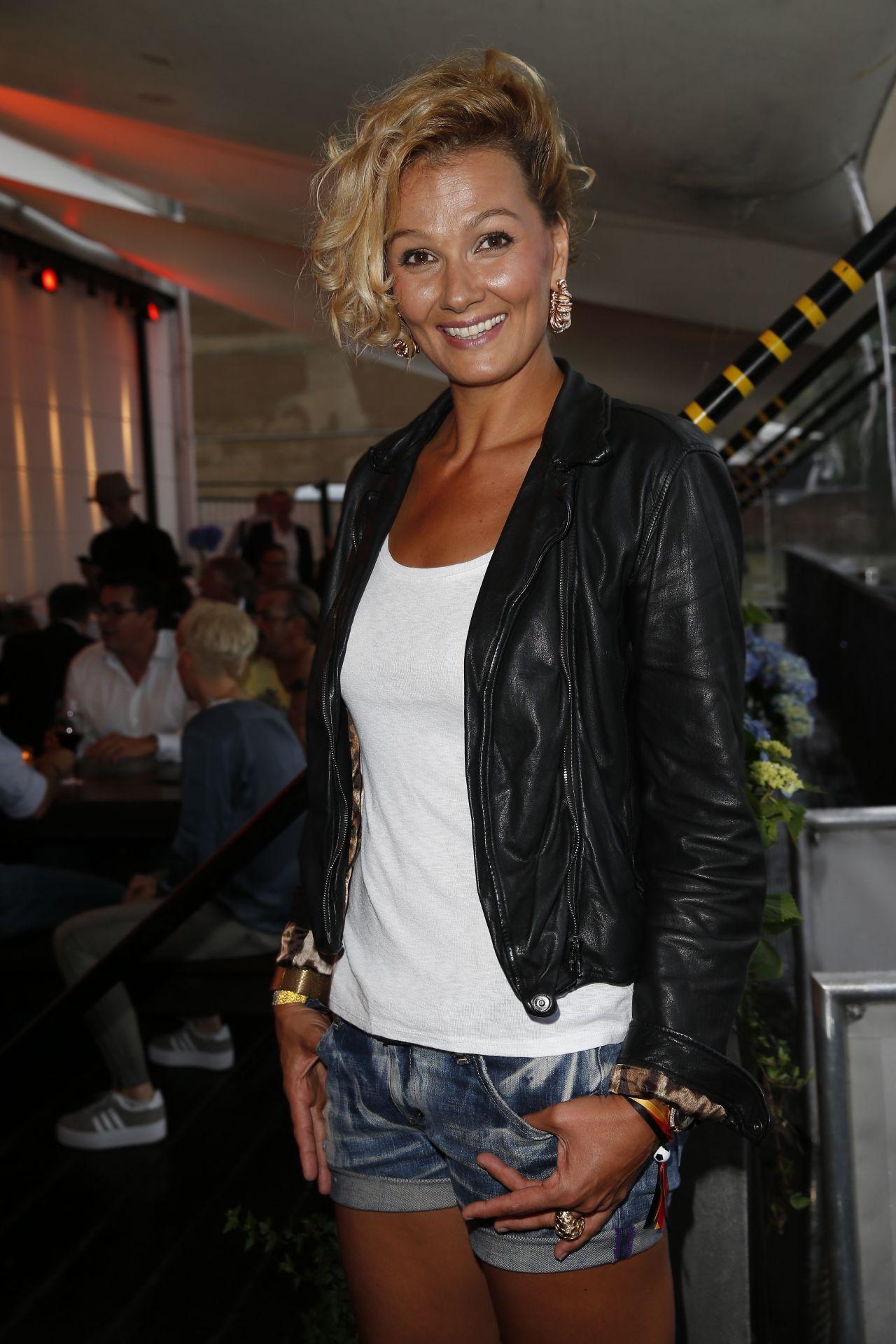 Franziska Van Almsick Mercedes Benz Fashion Week In