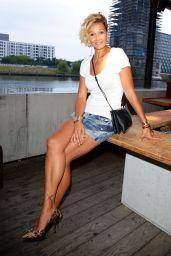 Franziska van Almsick - Mercedes-Benz Fashion Week in Berlin - July 2014