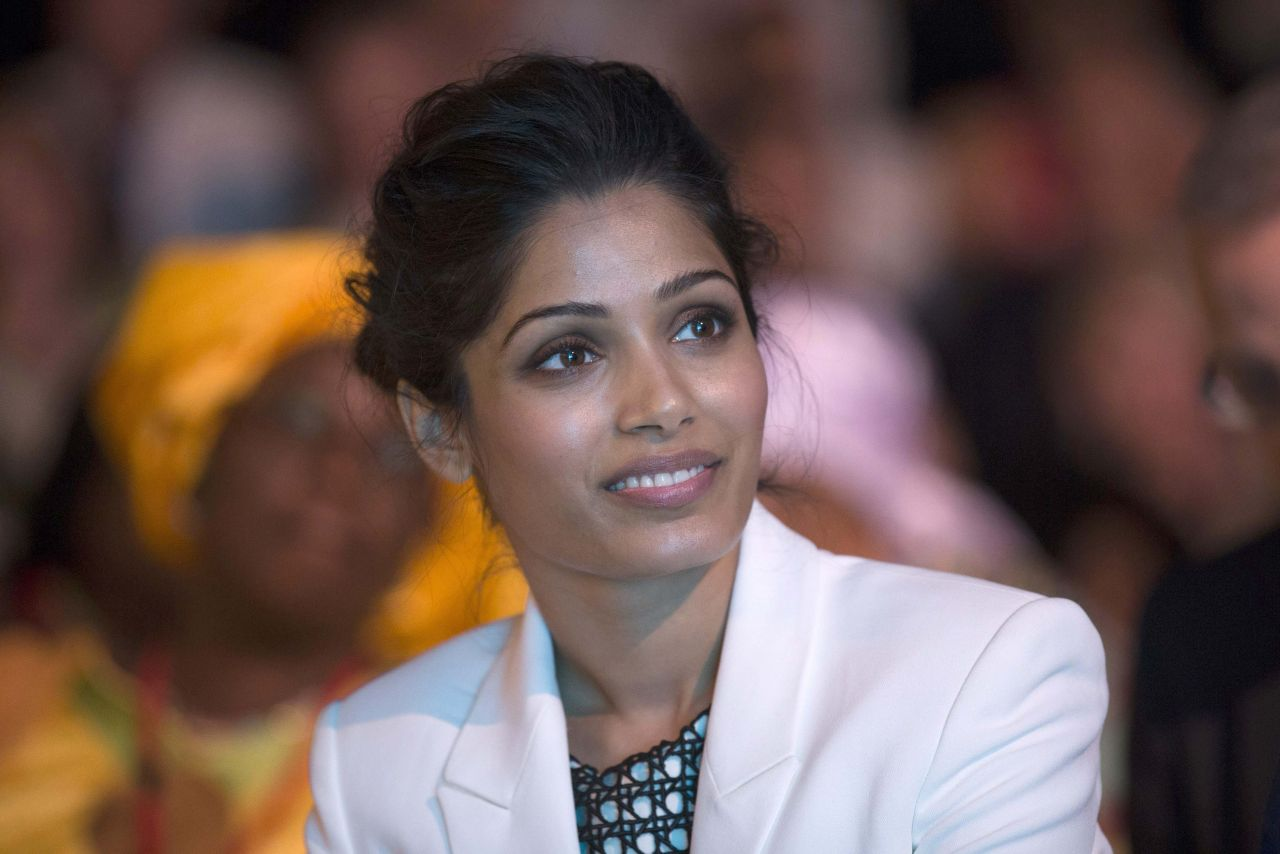 Freida Pinto at Girl Summit 2014