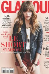 Freja Beha Erichsen - Glamour Magazine (France) - August 2014 Cover