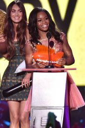 Gabby Douglas – 2014 Nickelodeon Kids Choice Sports Awards in Los Angeles