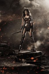 Gal Gadot - Wonder Woman Image Release at Comic-Con 2014 in San Diego