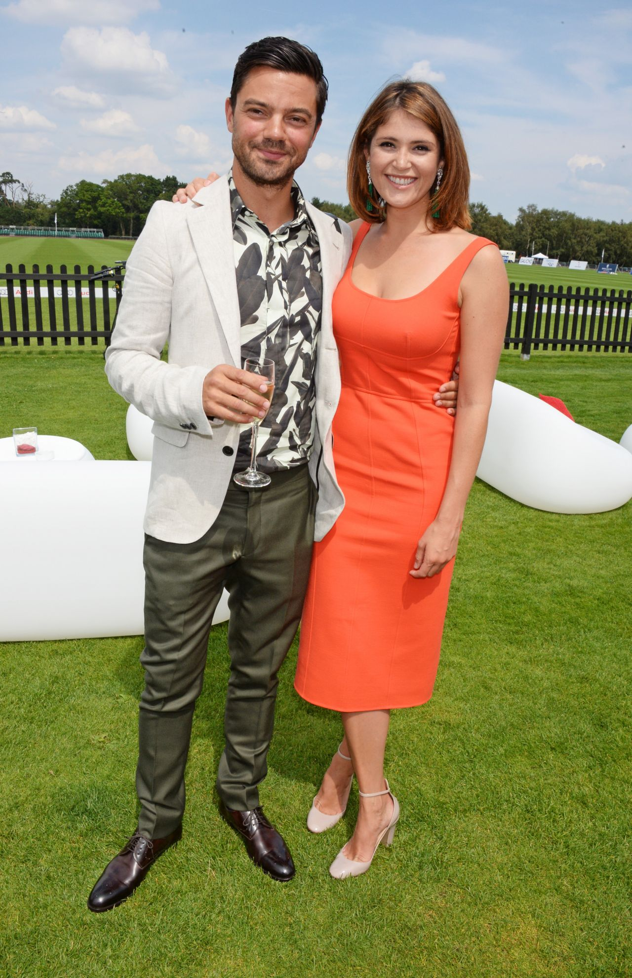Gemma Arterton Audi International At Guards Polo Club In