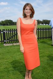 Gemma Arterton - Audi International at Guards Polo Club in London - July 2014