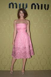 Gemma Arterton in Paris - Miu Miu Resort Collection 2014