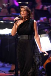 Gemma Arterton Performs at 'Tim Rice – A Life In Song' – London, July 2014