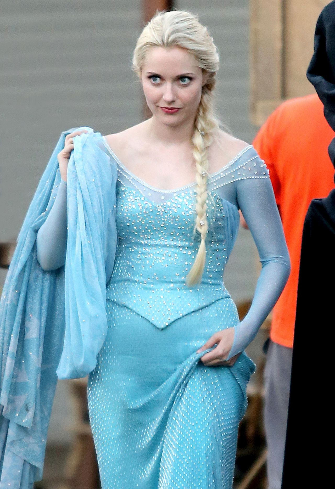 Georgina Haig – 'Once Upon a Time' Set Photos - Richmond, July 2014