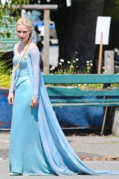 Georgina Haig – 'Once Upon a Time' Set Photos - Richmond, July 2014