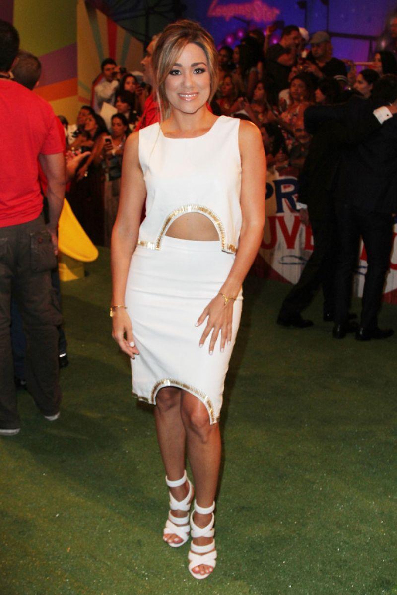 Gloria Ordaz – 2014 Premios Juventud Awards in Miami