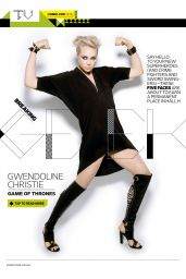 Gwendoline Christie - Entertainment Weekly Magazine - July 25, 2014