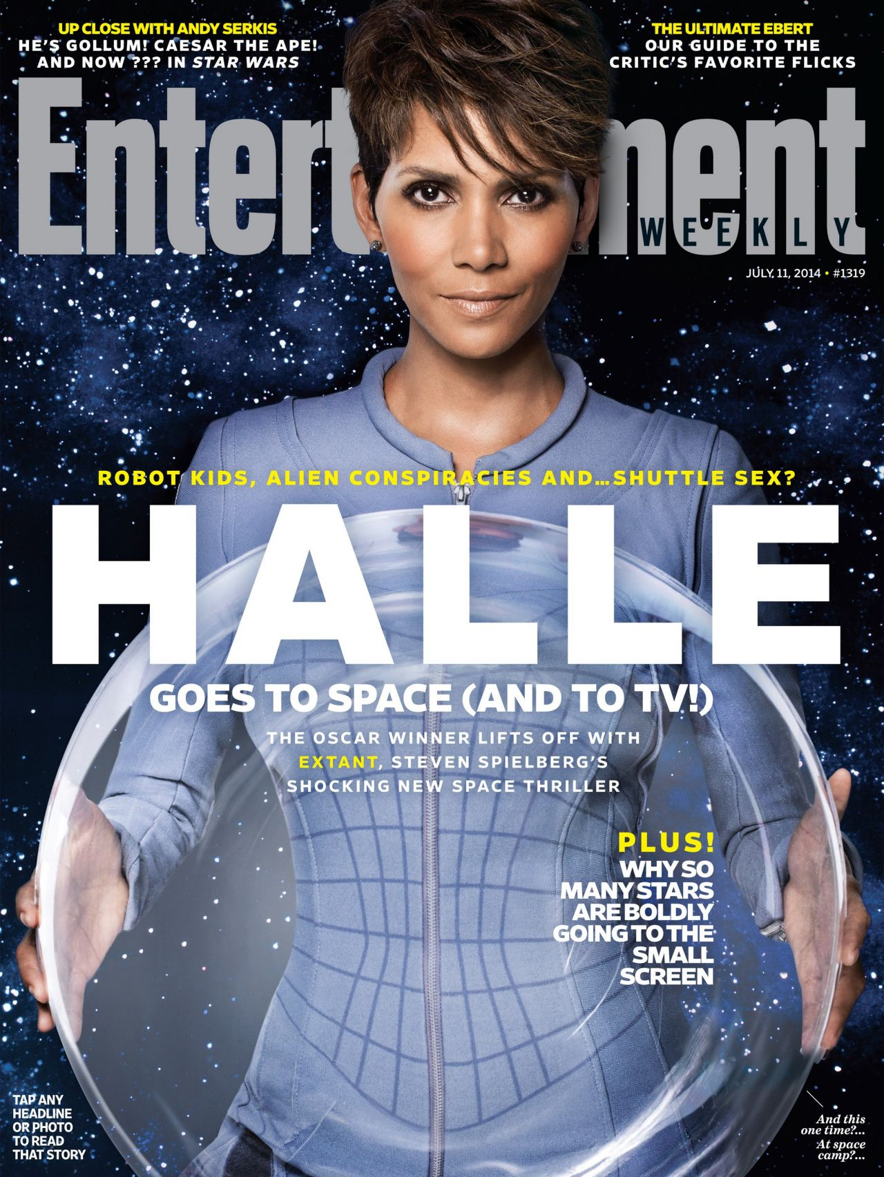 Halle Berry - Entertainment Weekly Magazine - July 11, 2014