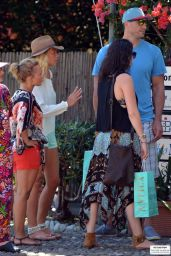 Hayden Panettiere - Shopping in Portofino (Italy) - July 2014