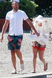 Hayden Panettiere - Shopping in Portofino (Italy) - July 2014