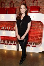 Hayley Atwell - Virgin Atlantic's New Vivienne Westwood Punk Chic Uniform Collection in London