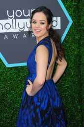 Hayley Orrantia - 2014 Young Hollywood Awards in Los Angeles