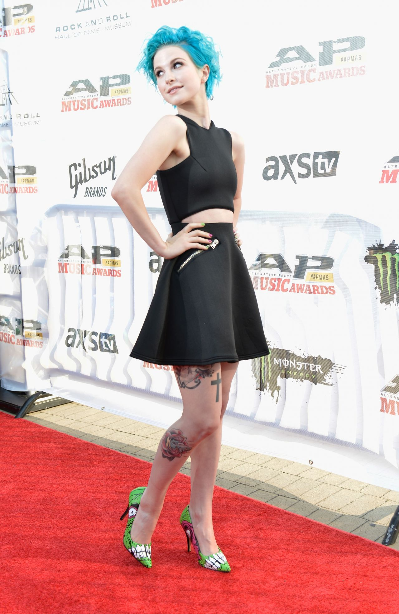 Hayley Williams - 2014 Alternative Press Music Awards