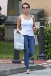 Helen Flanagan in Tight Jeans at Trafford Centre - July 2014