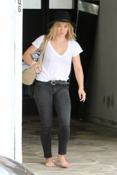 Hilary Duff Leaving a Gym in LA - July 2014