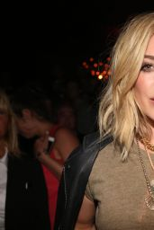 Hilary Duff Night out Style - Chasing The Sun Single Release Celebration in NYC
