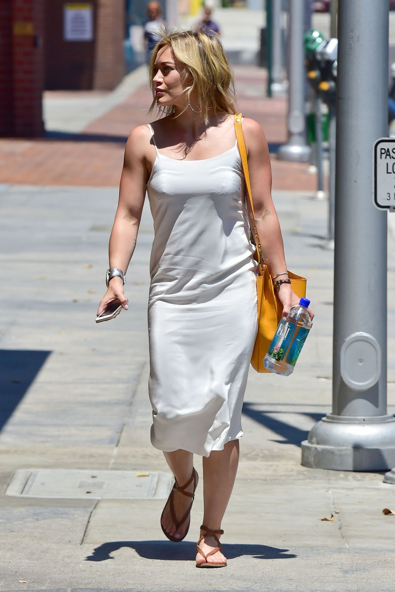 Hilary Duff Street Style Out And About In Beverly Hills