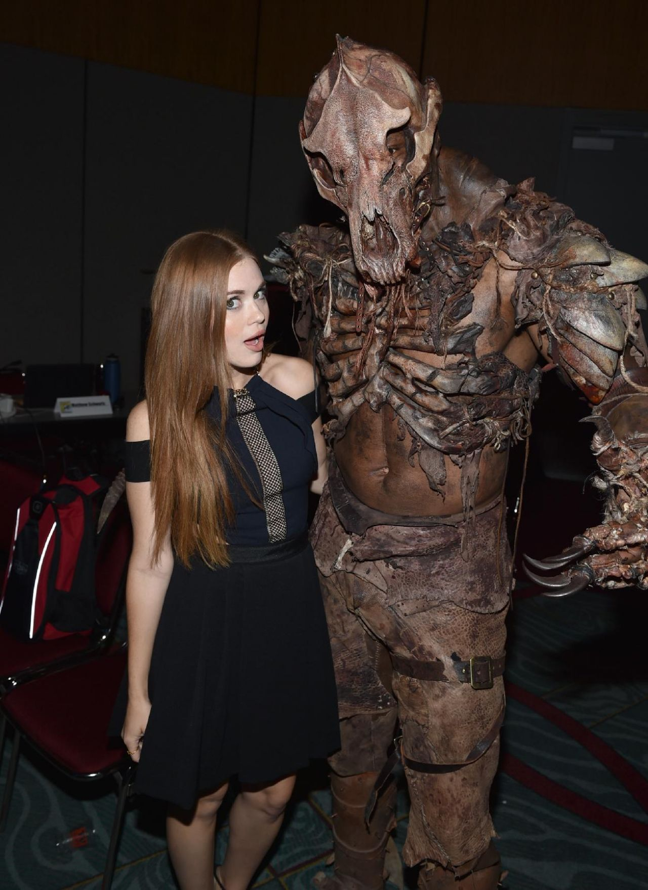 Holland Roden at 'Teen Wolf' Comic-Con Panel – July 2014