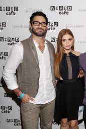 Holland Roden – WIRED Cafe at Comic-Con in San Diego – July 2014