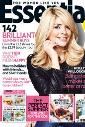 Holly Willoughby - Essentials Magazine (UK) - August 2014 Cover