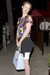 Iggy Azalea Night Out Style - Leaving a Restaurant in Beverly Hills - July 2014