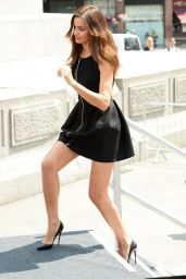 Irina Shayk in Mini Dress -