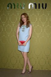 Isla Fisher in Paris – Miu Miu Resort Collection 2014