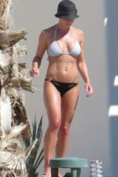 Jaime Pressly Bikini Candids - on Vacation in Cabo - July 2014