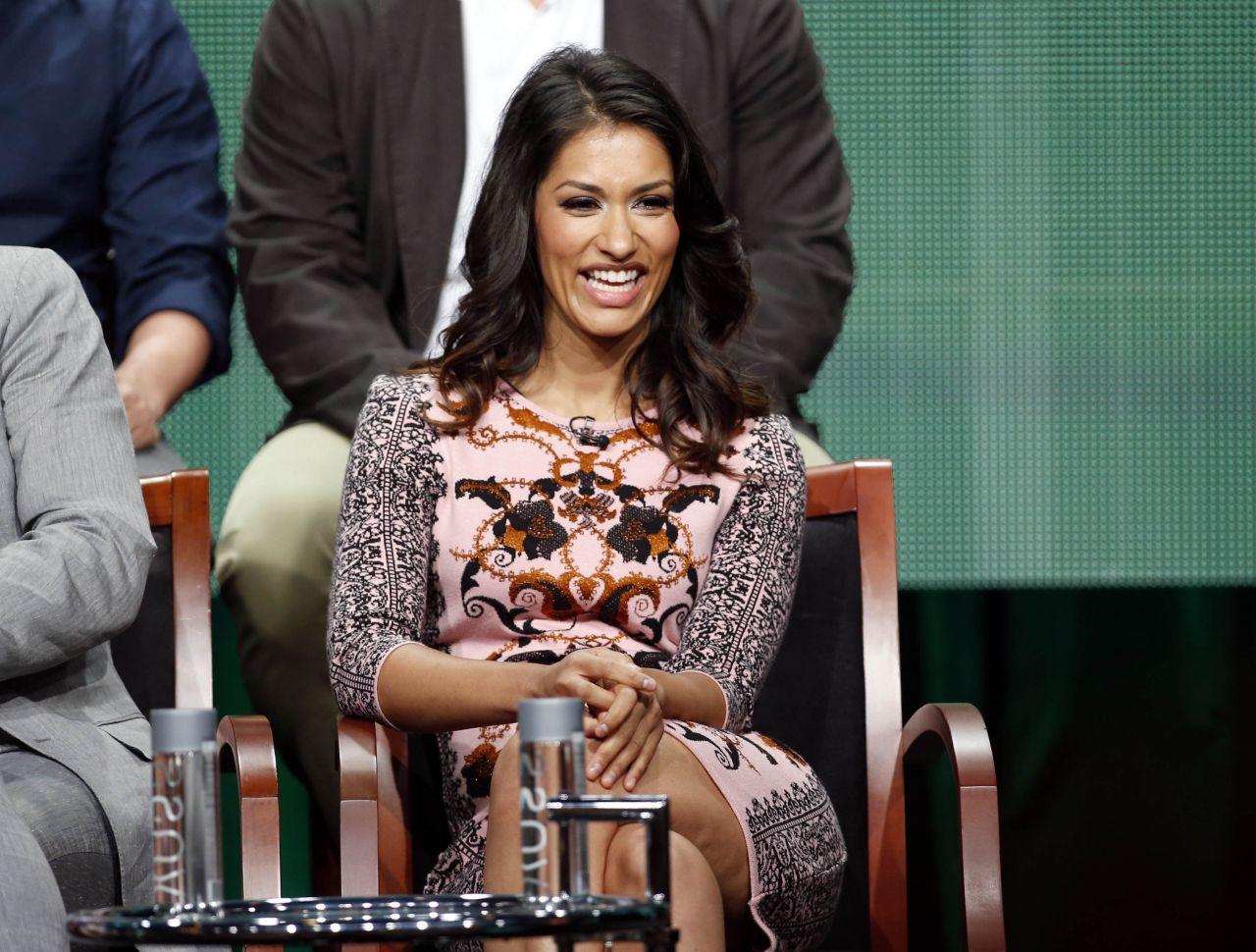 Janina Gavankar - NBC Universal Summer TCA Tour - July 2014