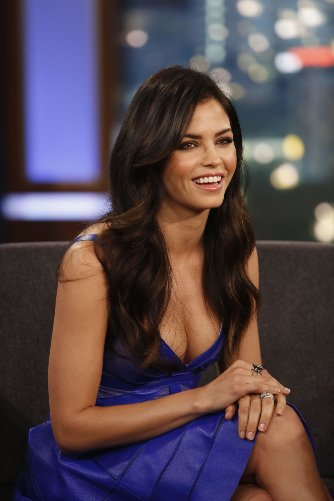 Jenna Dewan-Tatum at Jimmy Kimmel Live - June 2014
