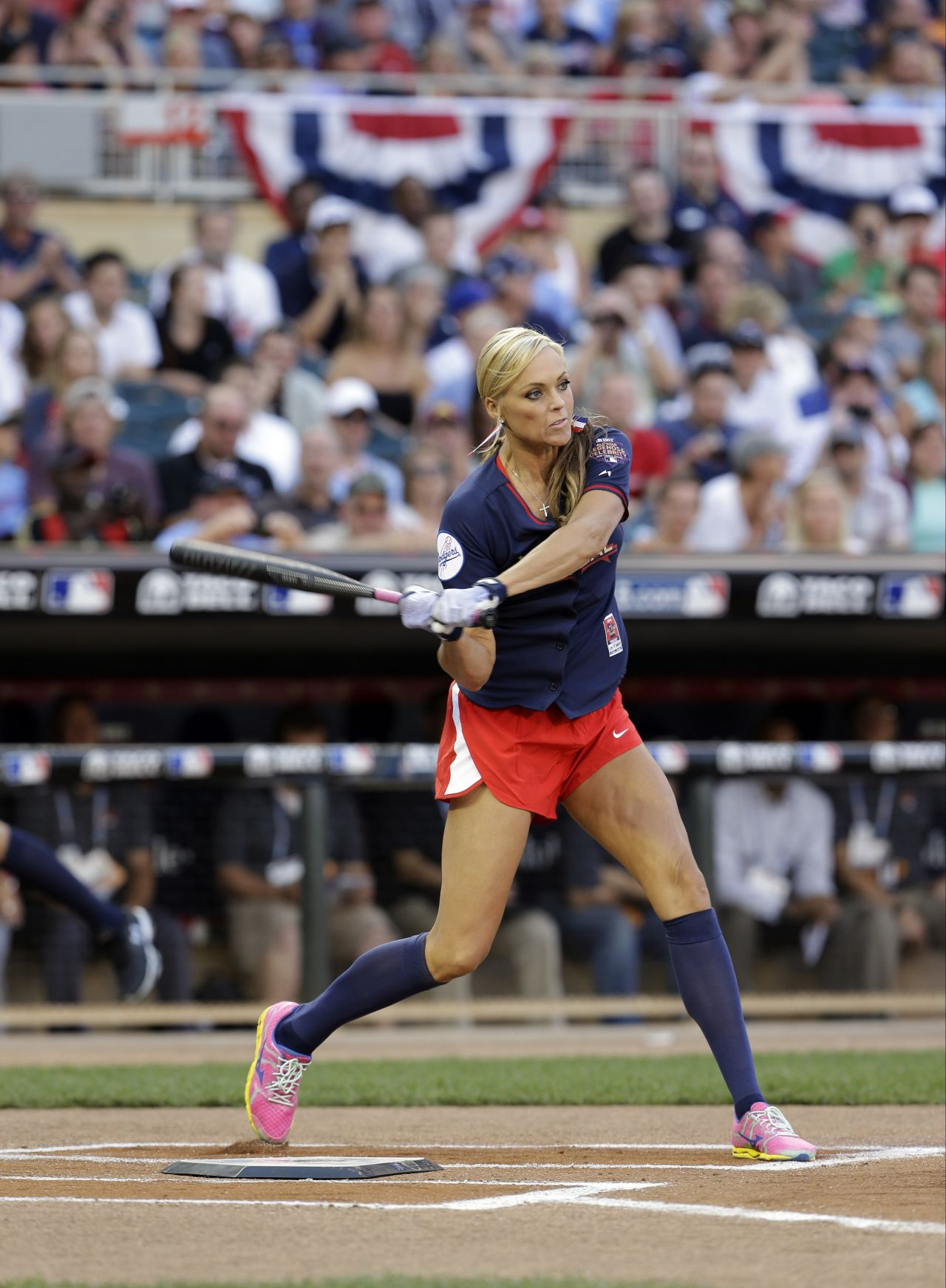 Jennie Finch - MLB All-Star Legends & Celebrity Softball Game - July 2014
