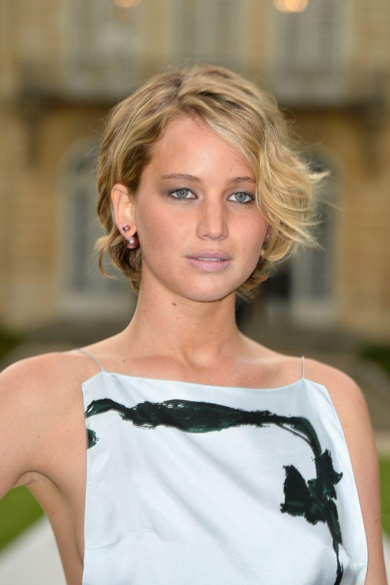Jennifer Lawrence  Christian Dior Fashion Show During Paris Fashion Week  July 2014-1835