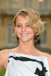 Jennifer Lawrence – Christian Dior Fashion Show During Paris Fashion Week – June 2014
