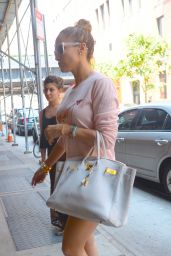 Jennifer Lopez - Leggy in SoHo in New York City - July 2014