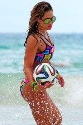 Jennifer Nicole Lee in a Bikini in Miami - July 2014