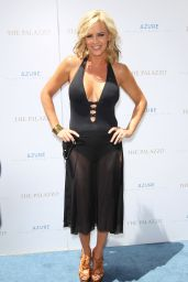 Jenny McCarthy - Pool Party at Azure Luxury Pool in Las Vegas - July 2014