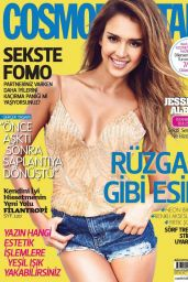 Jessica Alba - Cosmopolitan Magazine (Turkey) August 2014 Cover