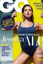 Jessica Alba - GQ Magazine (UK) August 2014 Issue