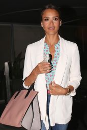 Jessica Alba Night Out Style - at Katsuya Restaurant in Los Angeles - July 2014