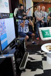 Jessica Alba & Rosario Dawson - Microsoft VIP Lounge at Comic-Con in San Diego