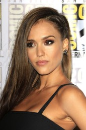 Jessica Alba – 'Sin City A Dame To Kill' Press Line & Panel at Comic-Con in San Diego