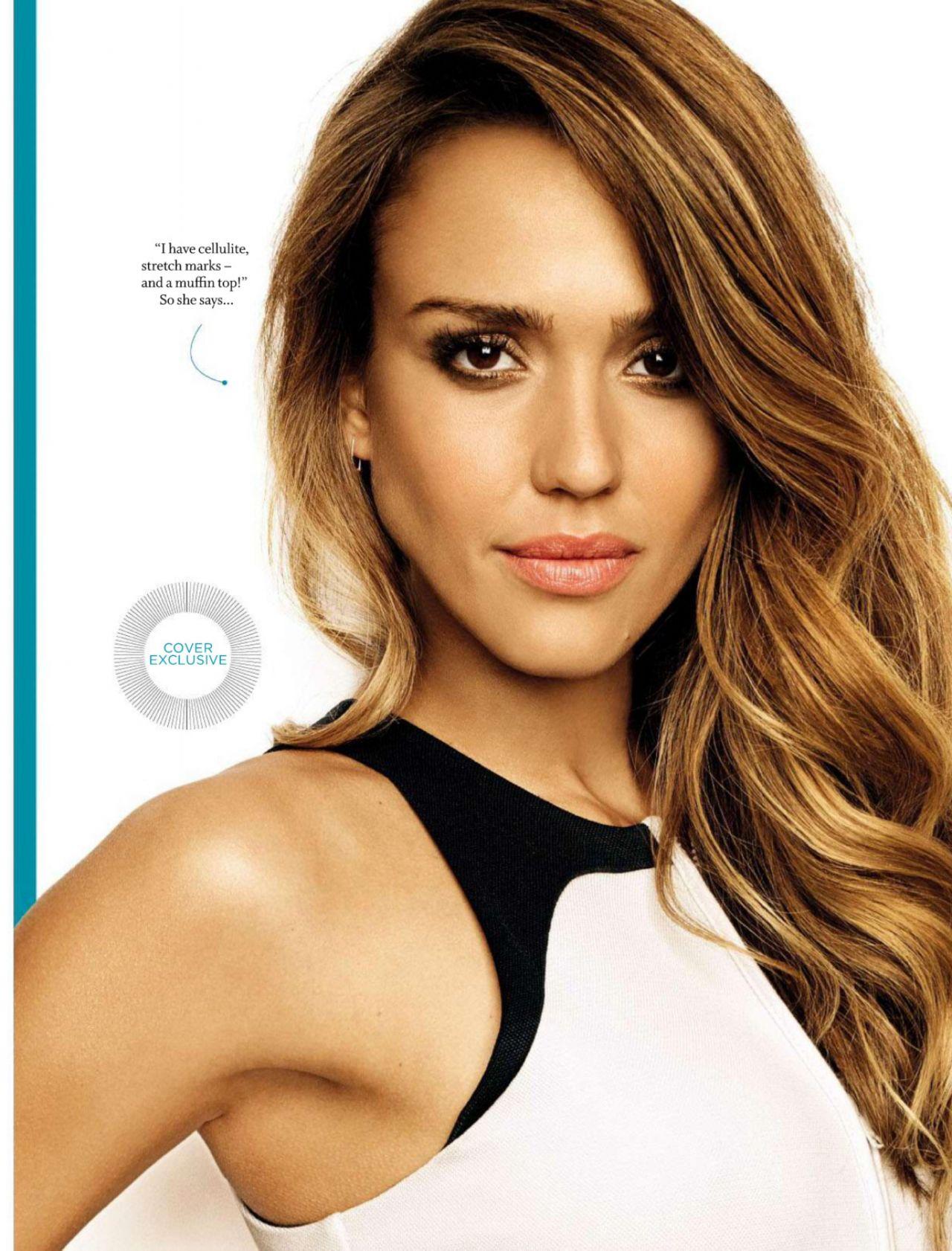 Jessica Alba – Women's Health Magazine (South Africa) – August ... Jessica Alba