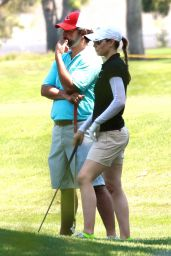Jessica Biel at Lakeside Golf Club in Toluca Lake - June 2014