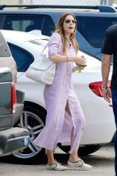 Jessica Biel Street Style - Out in Los Angeles - July 2014