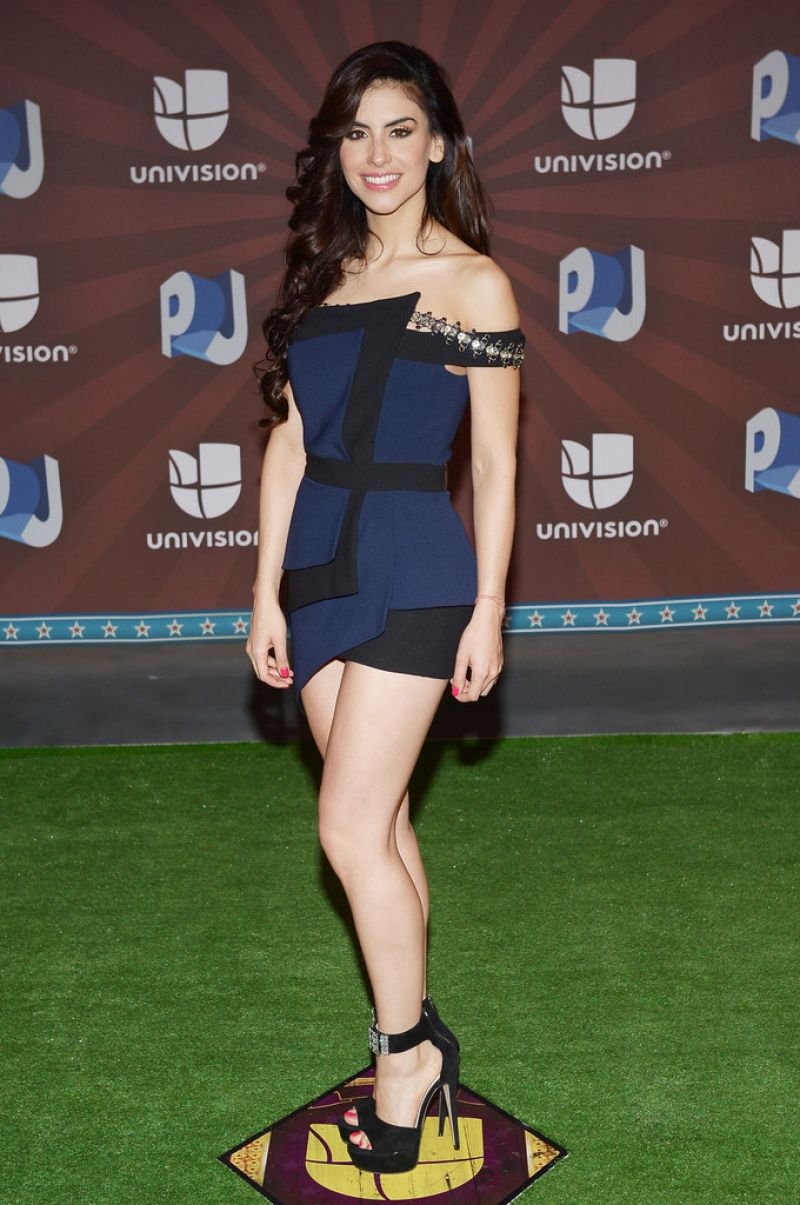 Jessica Cediel – 2014 Premios Juventud Awards in Miami