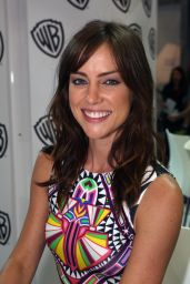 Jessica Stroup - Warner Bros. at SDCC 2014